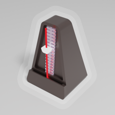 Metronome 3D Plus iOS App for iPhone and iPad