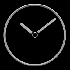Titanium Luxury Clock iOS App for iPhone and iPad
